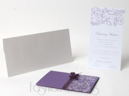 Invitación de boda -  ELEGANT LILA
