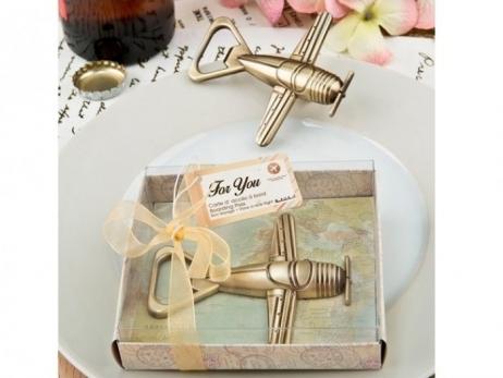 Detalle de boda - ABRIDOR BON VOYAGE EN CAJA REGALO ref. 4683