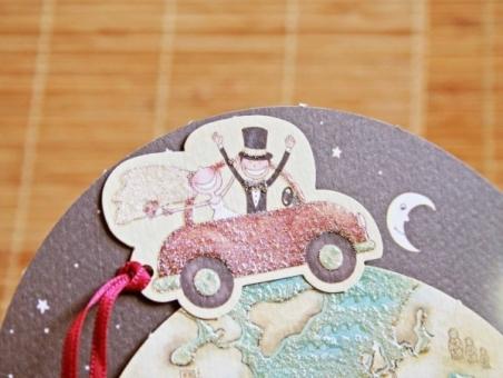 Invitación de boda barata viajes 32406