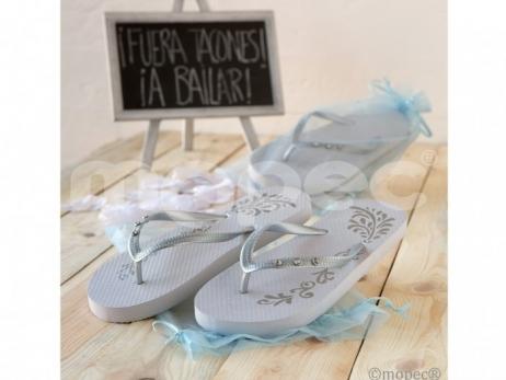Detalle de boda - ZAPATILLAS FUERA TACONES ref. A815
