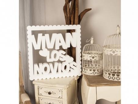Mensajes de corcho - VIVAN LOS NOVIOS ref. 1