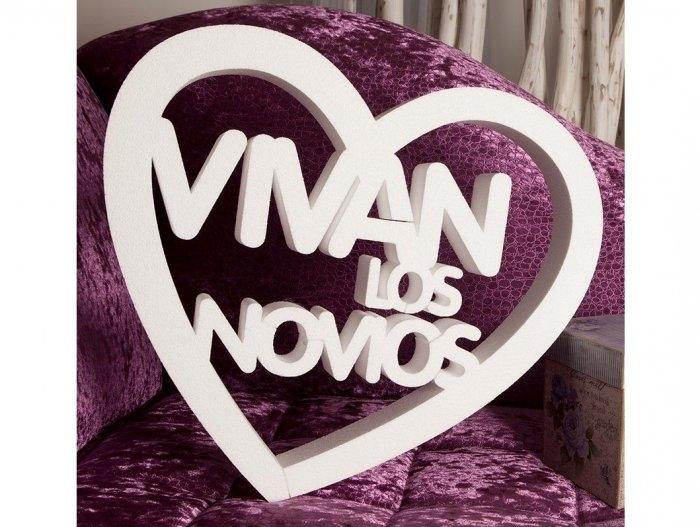 Mensajes de corcho - VIVAN LOS NOVIOS ref. 2