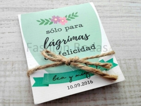 LÁGRIMAS DE FELICIDAD - MODELO CARTEL FLORAL