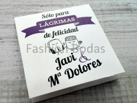 LÁGRIMAS DE FELICIDAD - MODELO PAN Y MERMELADA
