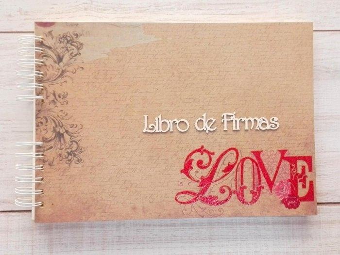 Libro de firmas - LOVE KRAFT