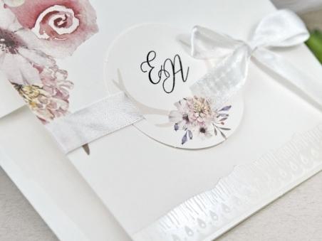 Invitación de boda RUSTICA FLORAL 39632