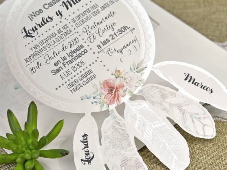 Invitación de boda ATRAPASUEÑOS 39633