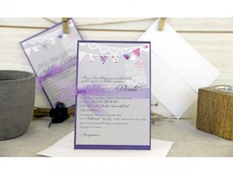 Invitación de boda - ORIGINAL PARTY   (C634132)