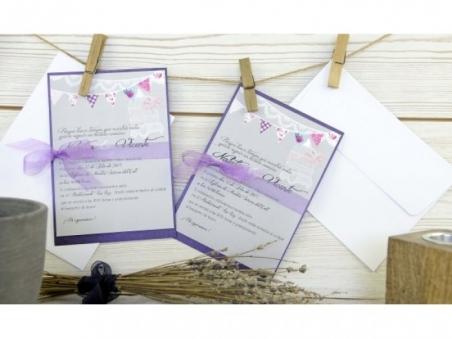 Invitación de boda diferente ORIGINAL PARTY CARD 326341