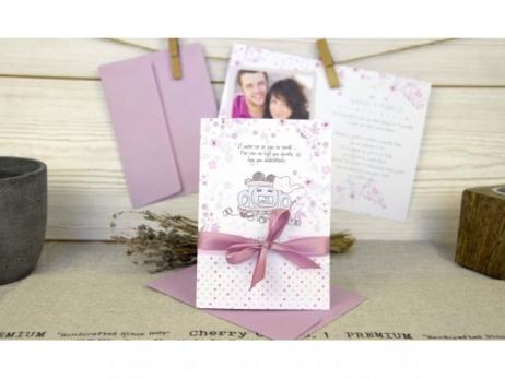 Invitación de boda - ORIGINAL CON FOTOS   (C67332)