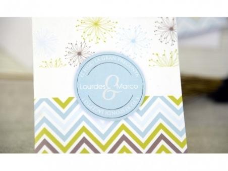 Invitación de boda - ORIGINAL CON FOTO CARD 32679