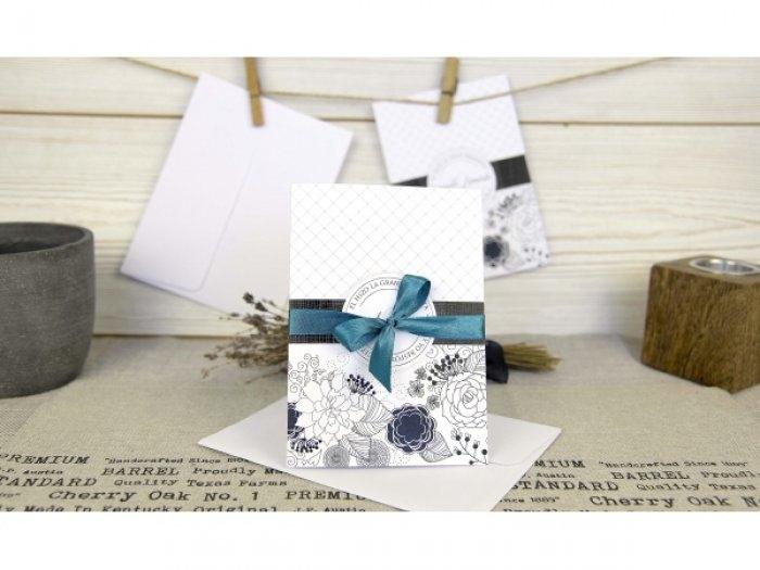 Invitación de boda - ORIGINAL ELEGANTE FOTO   (C67432)