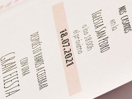 Invitación de boda PASAPORTE AMOR 39706