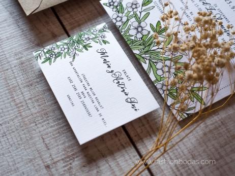 Invitación de boda - FLORAL 2