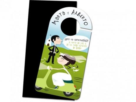 Invitación de boda - COLGADOS I0010G