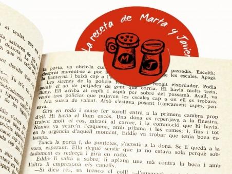 Invitación de boda - PUNTO DE LIBRO RECETA original, moderna, diferent