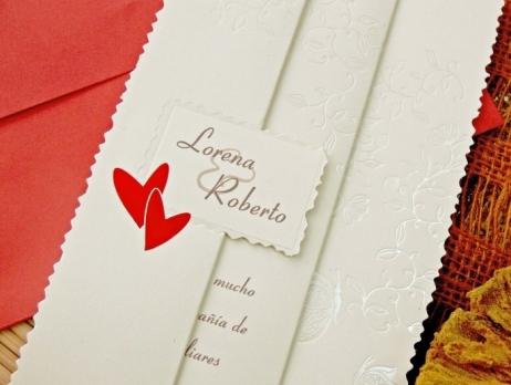 Invitación de boda - SENCILLA    (CARD 32757D)