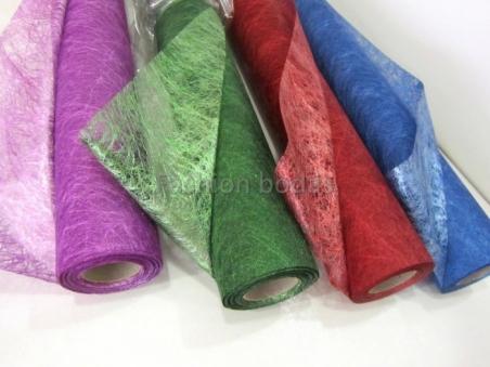 FISELINA METALIZADA colores, decoracion de detalles de boda
