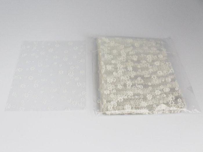 Bolsitas de celofán con flores 11x15cms  ref. 9124