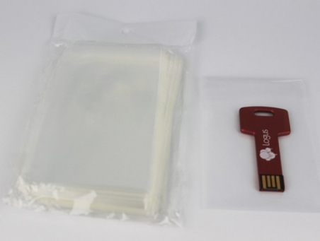 Bolsitas de celofán 6 x 9 cm con cierre adhesivo