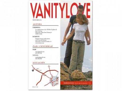 Invitación de boda - VANITY LOVE