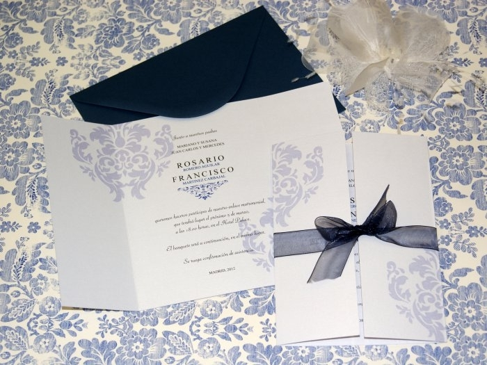 Invitación de boda - CLÁSICA 4125