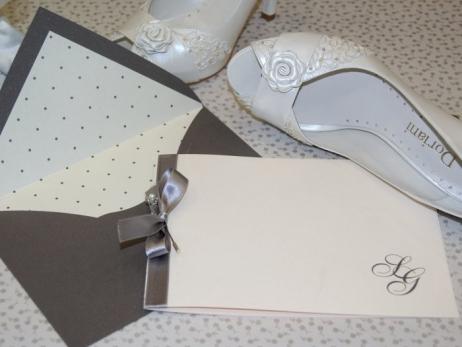 Invitación de boda - CLÁSICA 4127