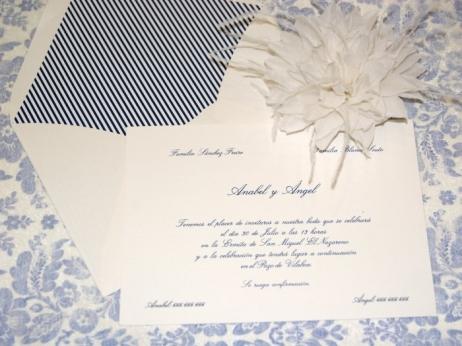 Invitación de boda - CLÁSICA 4301 SIMPLE
