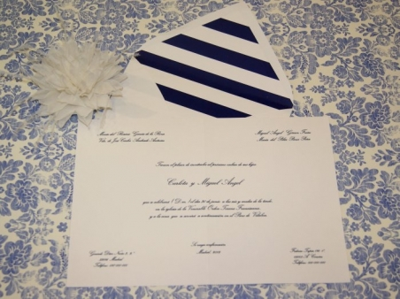Invitación de boda - CLÁSICA 4310