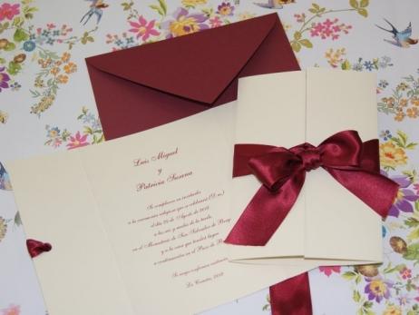 Invitación de boda - CLÁSICA 4308