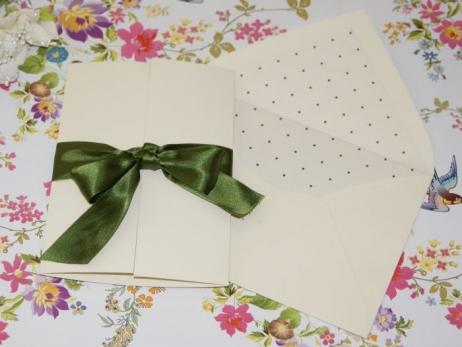 Invitación de boda - CLÁSICA 4324 TOPITOS