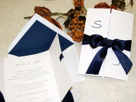 Invitación de boda - CLÁSICA 4328