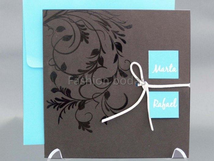 Invitación de boda - ELEGANTE ORNAMENTOS  (CARD 33722)